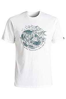 Футболка Quiksilver Engraved White