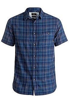 Рубашка в клетку Quiksilver Phaserset Estate Blue Phaser