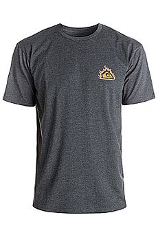 Футболка Quiksilver Hell Tentation Charcoal Heather