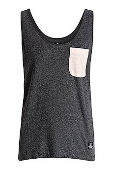 Майка женская DC Sand Yusky Tank Charcoal Heather