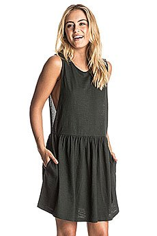 Платье женское Roxy Onethesenights Charcoal Heather