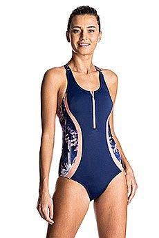 Купальник женский Roxy Kir Zipped 1pc Blue Depths