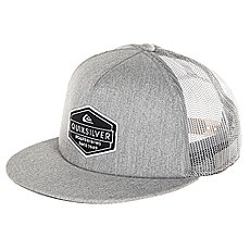 Бейсболка с сеткой Quiksilver Marbleson Light Grey Heather