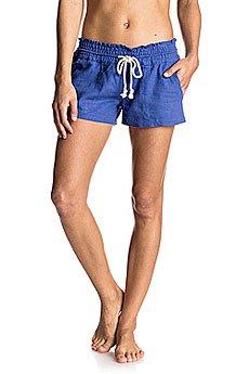 Шорты классические женские Roxy Oceanside Short Royal Blue