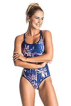 Купальник женский Roxy Kir Swim 1pc Blue Depths Washed