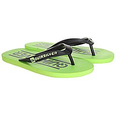 Вьетнамки детские Quiksilver Java Wordmarkyt B Sndl Black/Green
