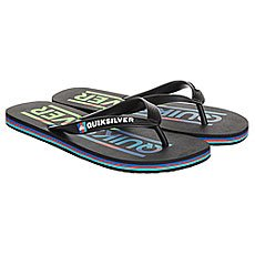 Вьетнамки детские Quiksilver Java Wordmarkyt B Sndl Black/Blue