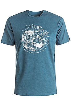 Футболка Quiksilver Engraved Indian Teal