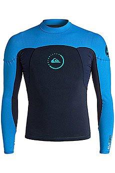 Гидрофутболка Quiksilver 1syncroneoshirt Navy Blazer