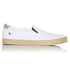 Слипоны Quiksilver Shorebrkslipesp White Brown