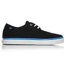 Кеды низкие детские Quiksilver Shorebreak Black Blue Grey