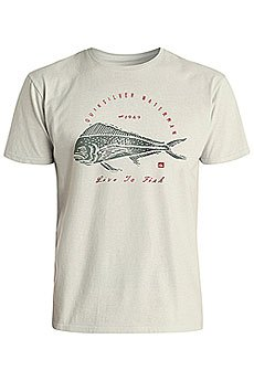 Футболка Quiksilver Livetofish Oatmeal Heather
