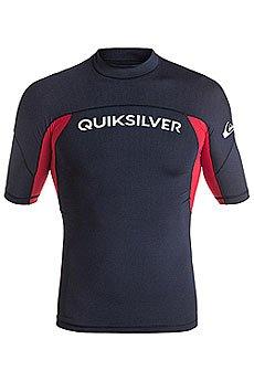 Гидрофутболка Quiksilver Performer Navy Blazer/Quik Red