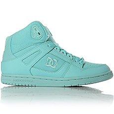 Кеды высокие женские DC Shoes Rebound High Aqua