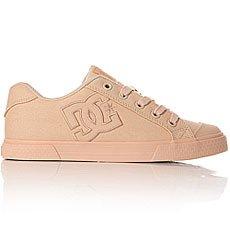 Кеды низкие женские DC Shoes Chelsea Tx Peach Cream