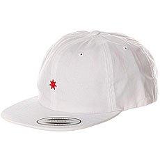 Бейсболка с прямым козырьком DC Skate Dcon Hat White