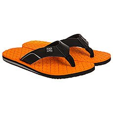 Вьетнамки DC Shoes Kush Black/Orange