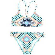 Купальник детский Roxy Hippie Co Athl G Pool Blue Free Spiri