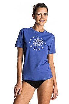 Гидрофутболка женская Roxy Palmsawayss Royal Blue