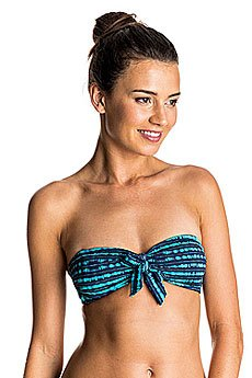 Бюстгальтер женский Roxy Pop Swim Bandea J Olmeque Stripe Combo