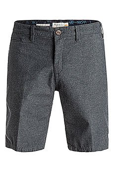 Шорты классические Quiksilver Grovershort Dark Grey Heather