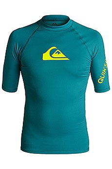 Гидрофутболка Quiksilver All Time Ss Morocco Blue