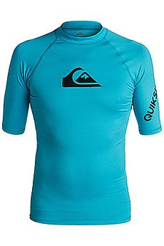 Гидрофутболка Quiksilver All Time Ss Blue Danube
