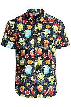 Рубашка в клетку DC Odanah Ss Black Cocktail Print