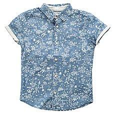 Рубашка детская Quiksilver Bloomfielddivyt Indigo Pyramid