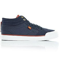 Кеды высокие DC Evan Smith Hi Navy/Gold