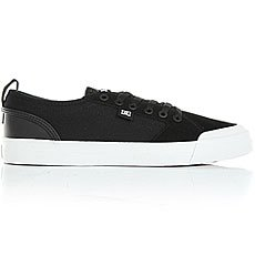 Кеды низкие DC Evan Smith S Black/White