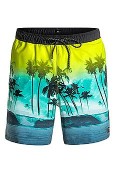 Шорты пляжные Quiksilver Wavesvolley17 Viridian Green