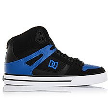Кеды высокие DC Spartan High Wc Black/Blue/White