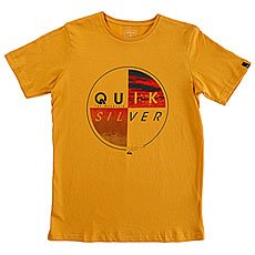 Футболка детская Quiksilver Sscltyoutblazed Golden Glow