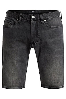 Шорты джинсовые Quiksilver Washed Straight Grey