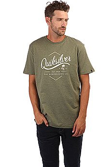 Футболка Quiksilver Ssclateseatales Four Leaf Clover Hea