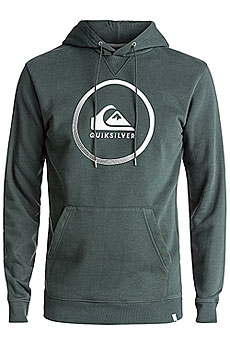 Толстовка кенгуру Quiksilver Big Logo Hood Urban Grey