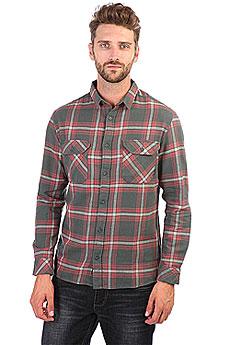 Рубашка в клетку Quiksilver Fitzforktail Urban Grey