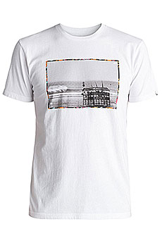 Футболка Quiksilver Sspretecompsoul White