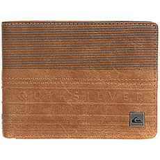 Кошелек Quiksilver Everydaystripew Bone Brown