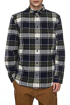 Рубашка в клетку DC South Ferry Ls Dark Indigo