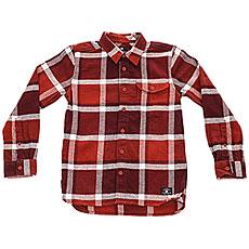 Рубашка в клетку детская DC Marsha Boy Burnt Henna