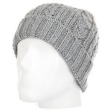 Шапка Quiksilver Flynt Beanie Hats Grey Heather