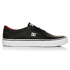 Кеды низкие DC Shoes Trase Black/Red/White