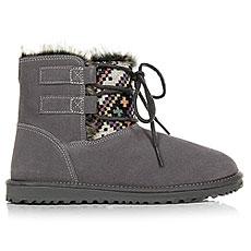 Ботинки высокие женские Roxy Tara Boot Grey