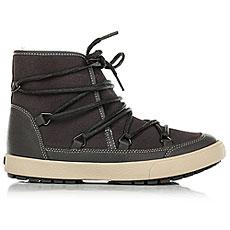 Ботинки высокие женские Roxy Darwin Boot Charcoal