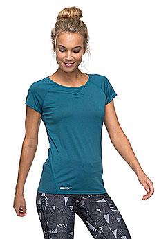 Футболка женская Roxy Wi So Tee Blue Coral