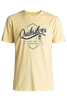 Футболка Quiksilver Ssclateseatales Yellow Heathe
