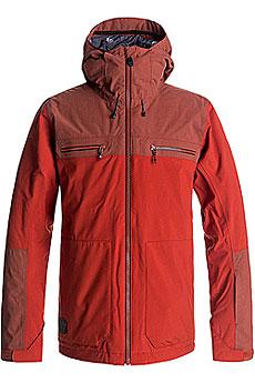 Куртка утепленная Quiksilver Arrow Wood Ketchup Red
