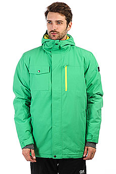 Куртка утепленная Quiksilver Mission Sol Kelly Green